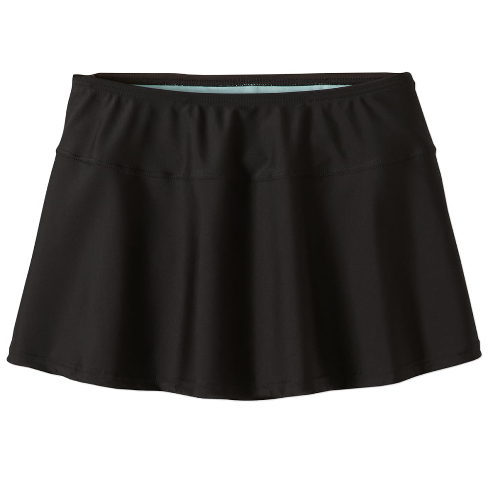 PRANA Women's Sakti Swim Skirt - BLK-BLACK