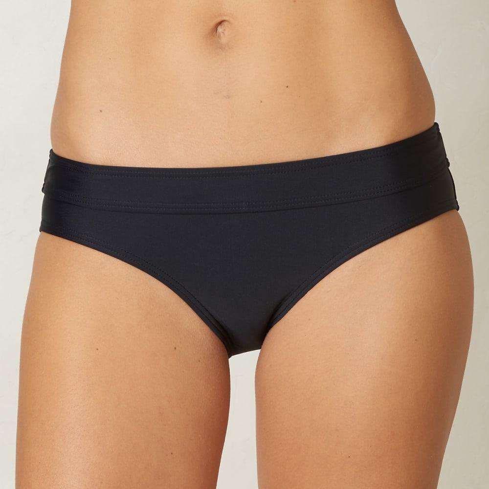 PRANA Women's Ramba Swim Bottoms - BLK-BLACK