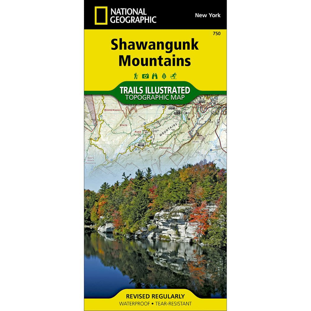 NATIONAL GEOGRAPHIC Shawangunk Mountains NO SIZE