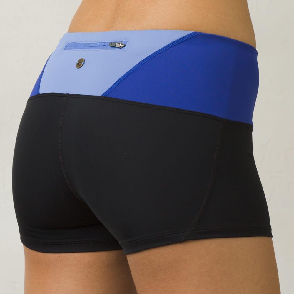 PRANA Women's Rai Swim Shorts - BLK-BLACK