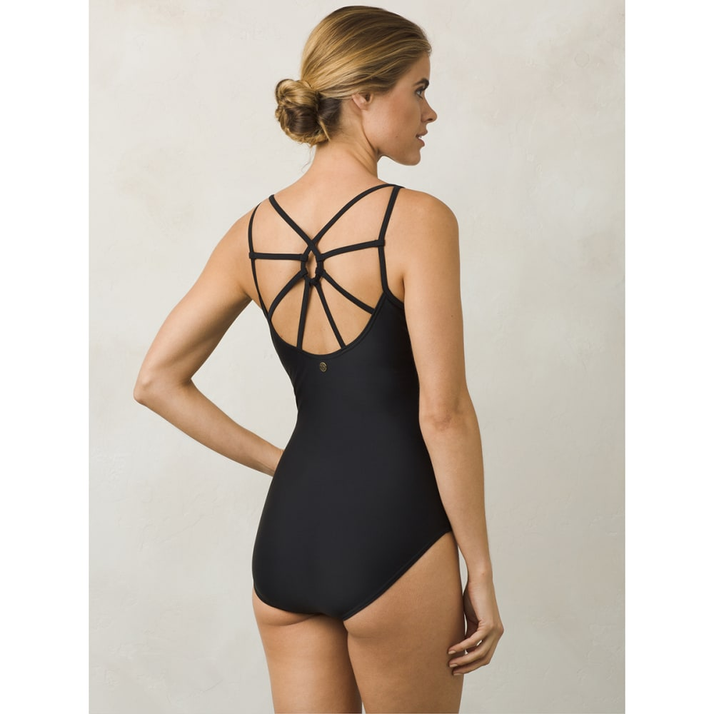 PRANA Women's Dreaming One-Piece Swimsuit - BLK-BLACK