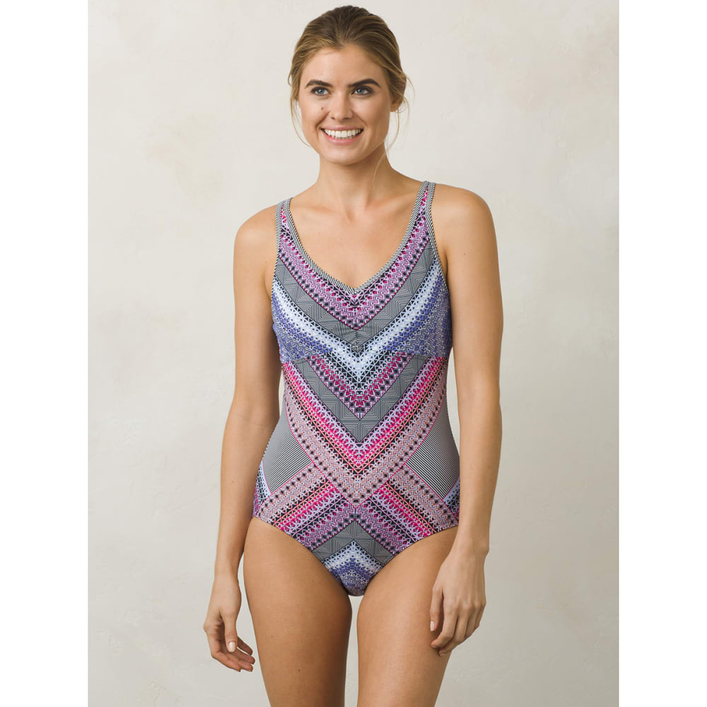 PRANA Women's Dreaming One-Piece Swimsuit - CPRV-COSMO PINK RIVI