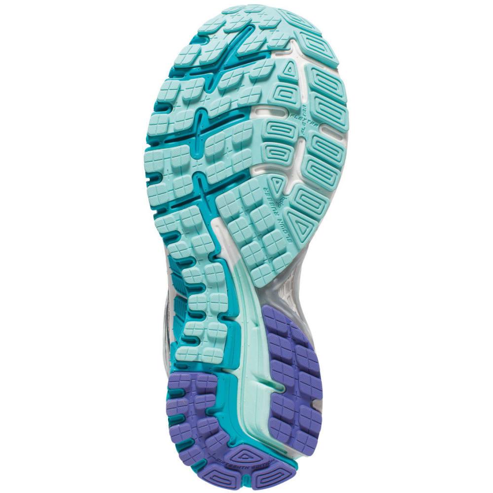 BROOKS Women's Adrenaline GTS 16 Running Shoes, Silver/Bluebird - SILVER/BLUEBIRD