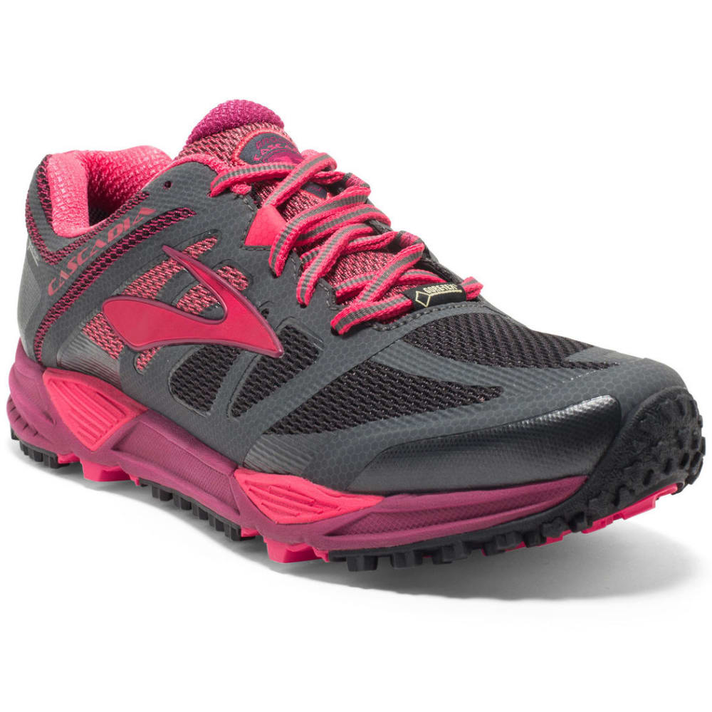 Anthracite Brooks Women'S Cascadia 11 Gtx