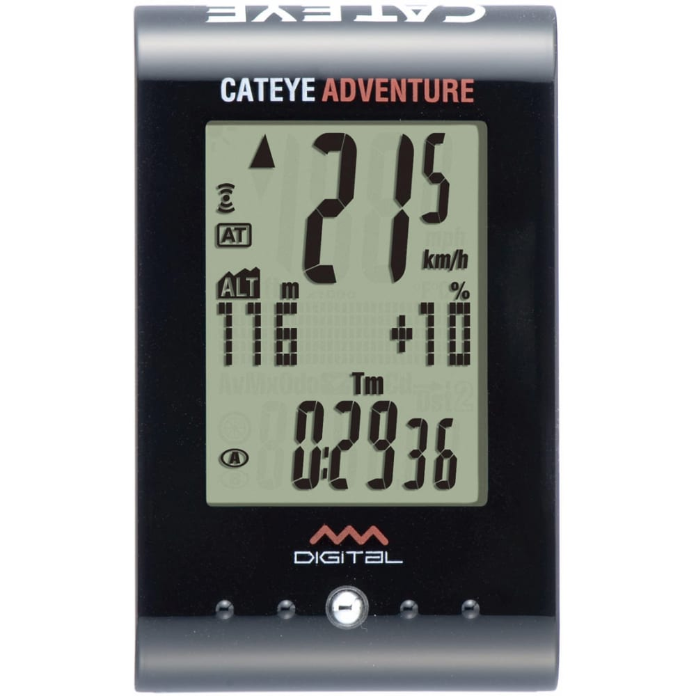 CATEYE Adventure CC-AT200 Bicycle Computer - NO COLOR