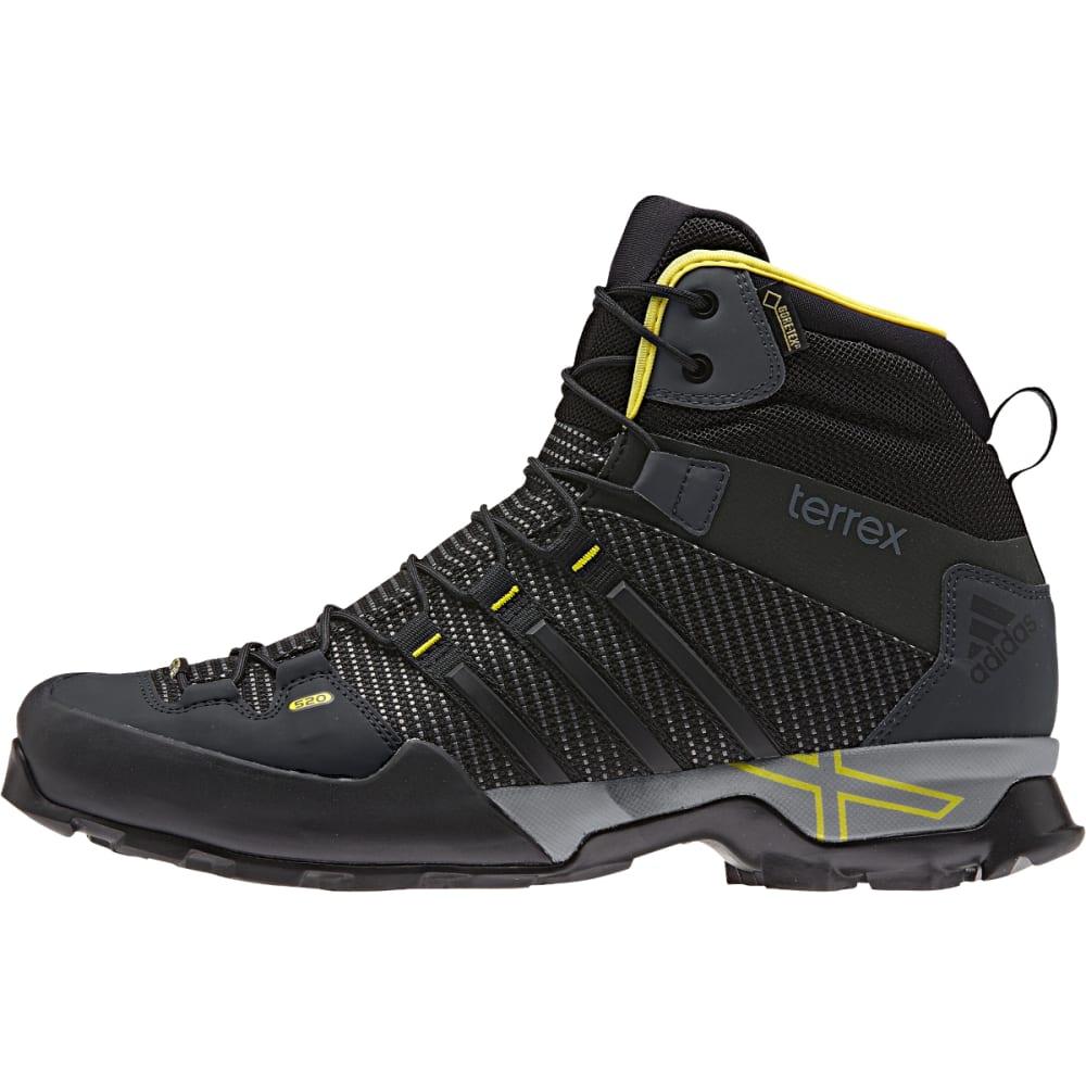 ADIDAS Men's Terrex Scope GTX Hightop Shoes, Dark Grey - DARK GREY/BLACK/V GR