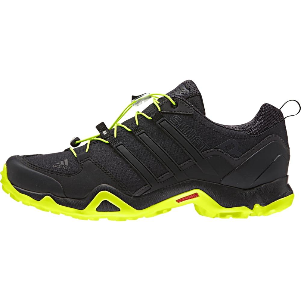 ADIDAS Men's Terrex Swift Shoes, Black - BLACK/SLR YLW/U BLK