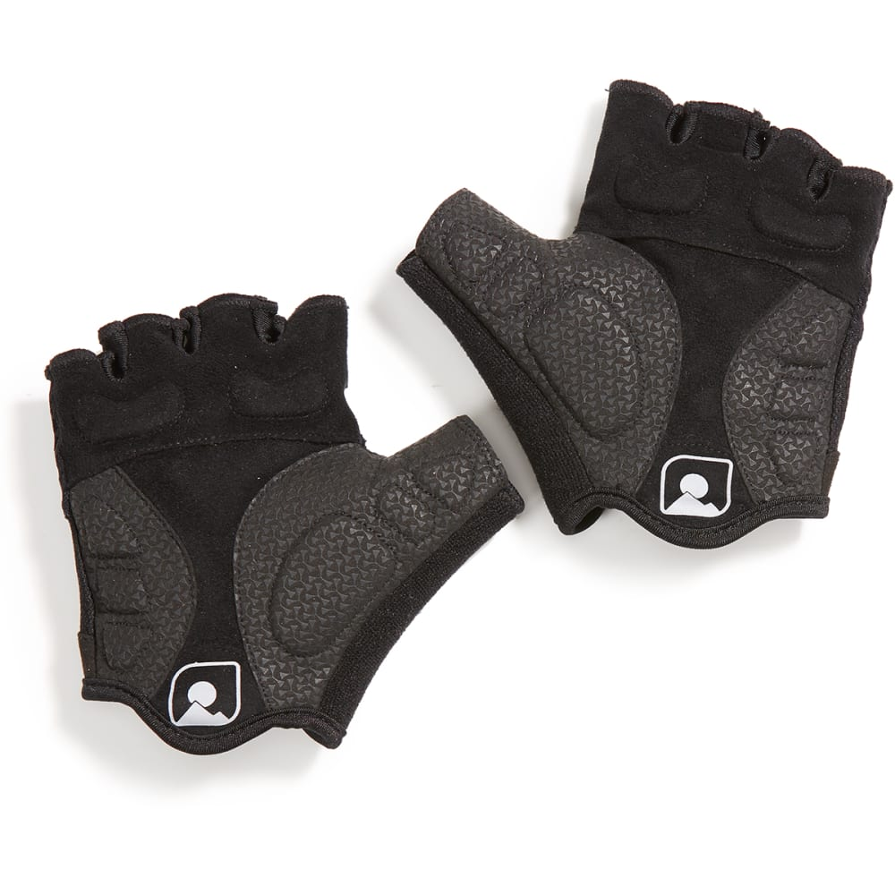 EMS Men's Half-Finger Gel Cycling Gloves - BLACK