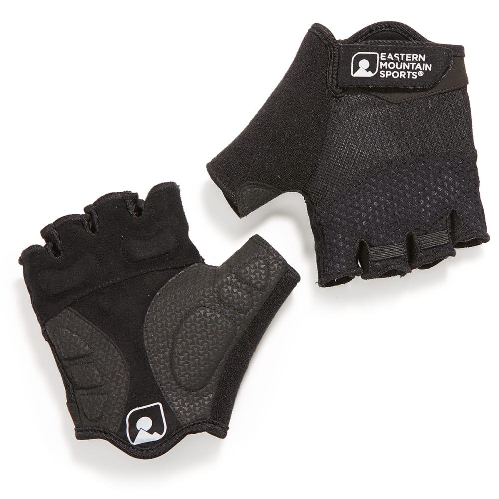 EMS Men's Half-Finger Gel Cycling Gloves - BLACK