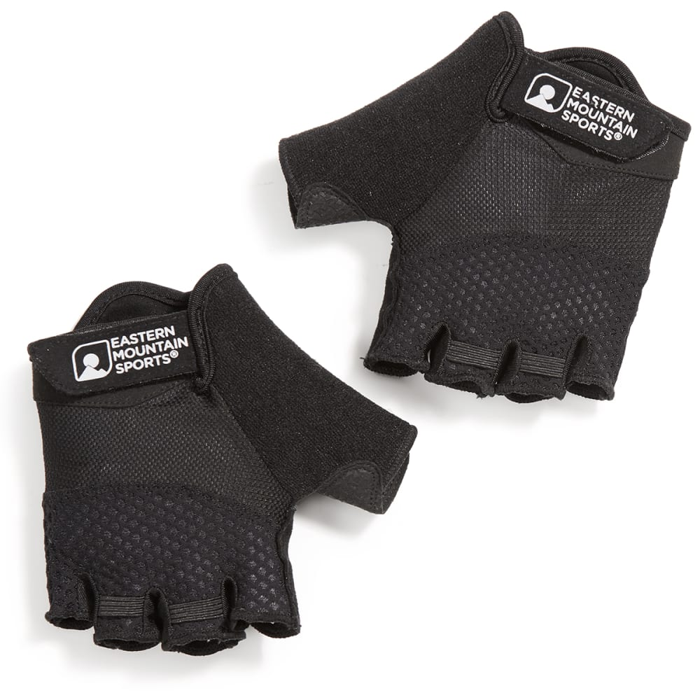 EMS Women's Half-Finger Gel Cycling Gloves - BLACK