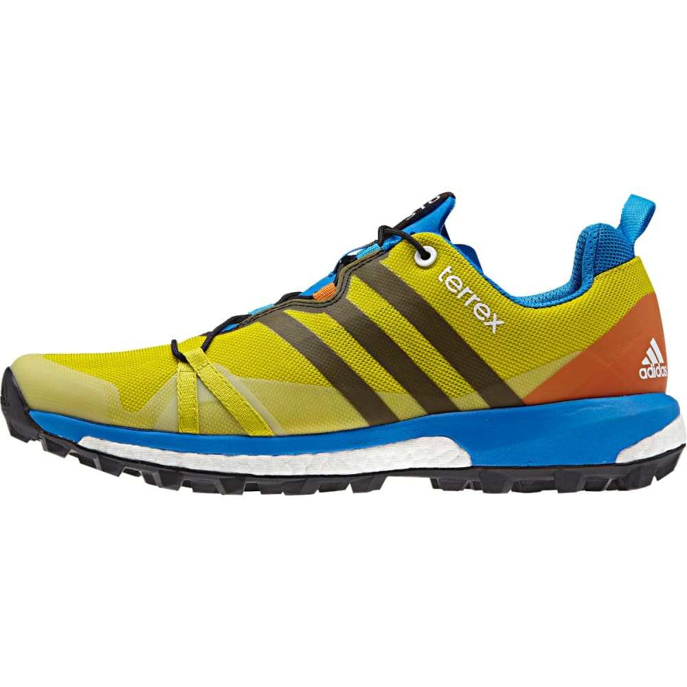 ADIDAS Men's Terrex Agravic Shoes, Bright Yellow - B YELLOW/BLK/UN LIME