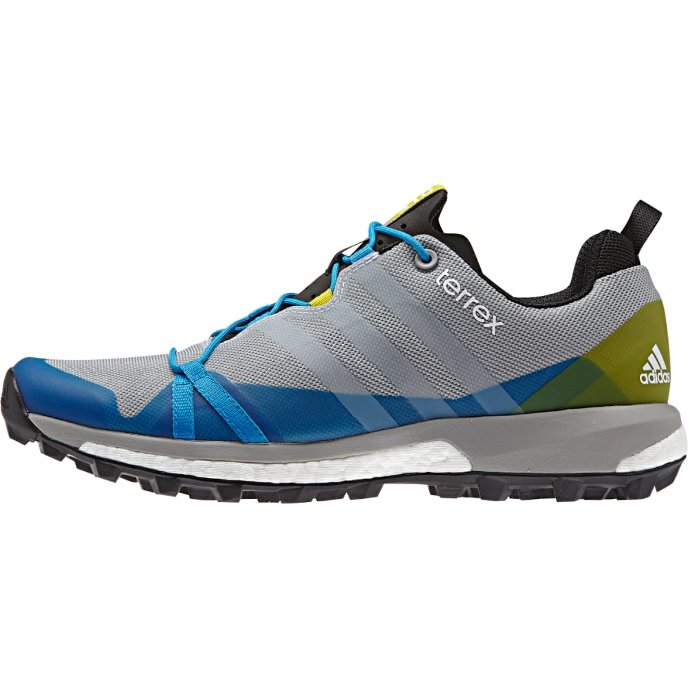 ADIDAS Men's Terrex Agravic Shoes, Mid Grey - MID GREY/WHITE/CL ON