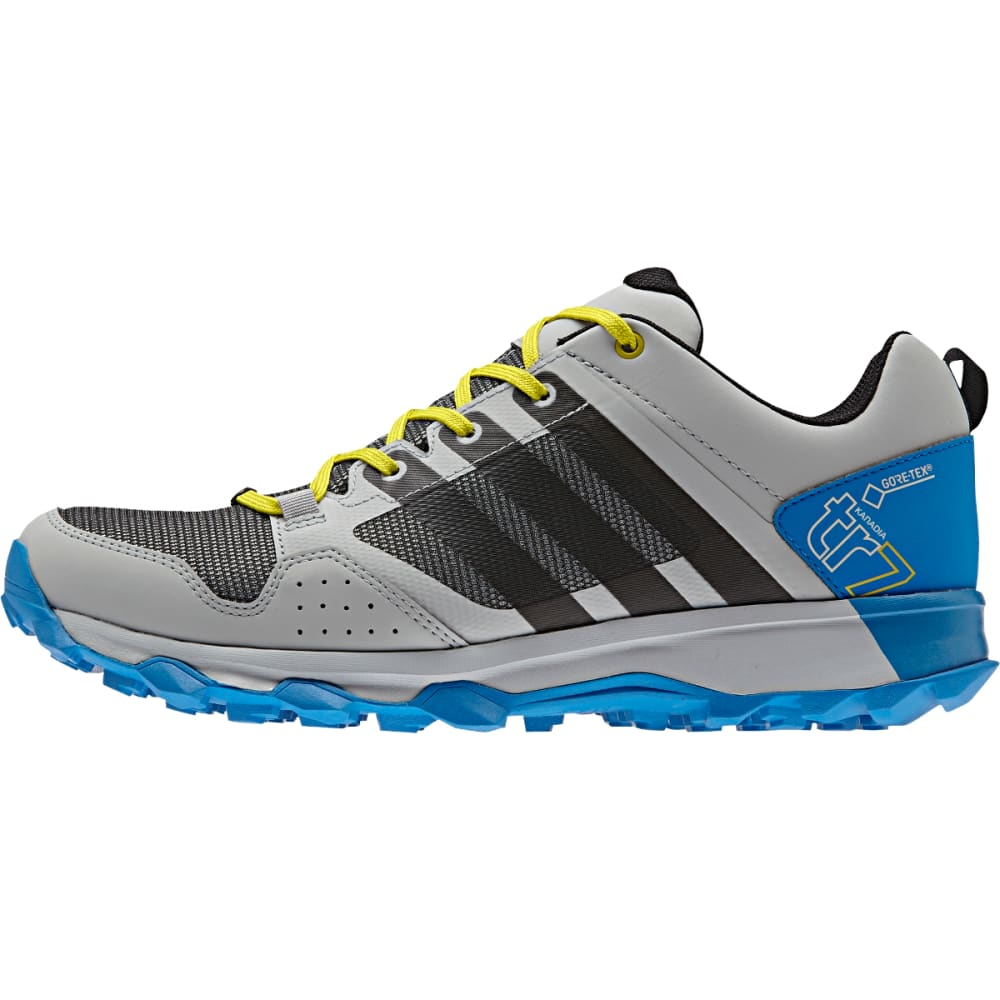 ADIDAS Men's Kanadia 7 Trail GTX Shoes, Clear Onix - CLEAR ONIX/BLACK/SH