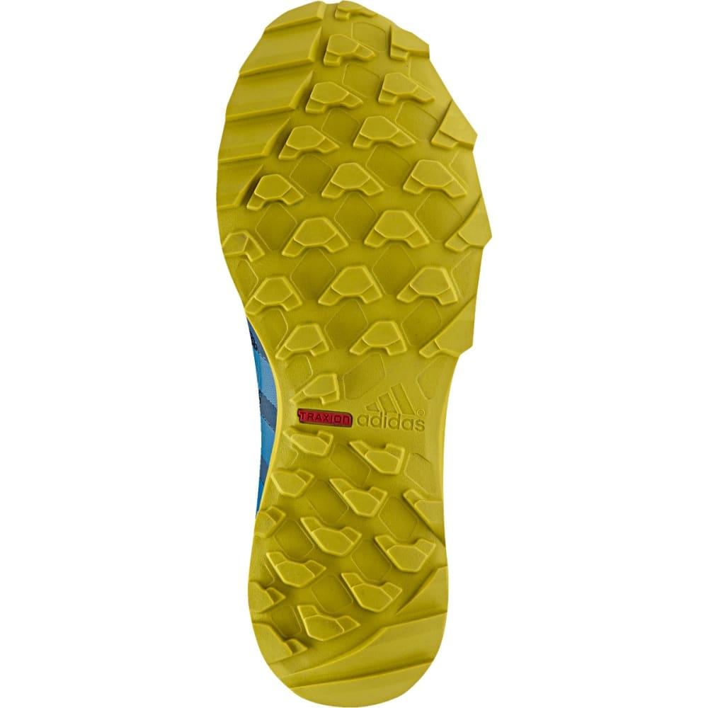 ADIDAS Men's Kanadia 7 Trail GTX Shoes, Tech Steel - TECH STEEL/UNITY BL/