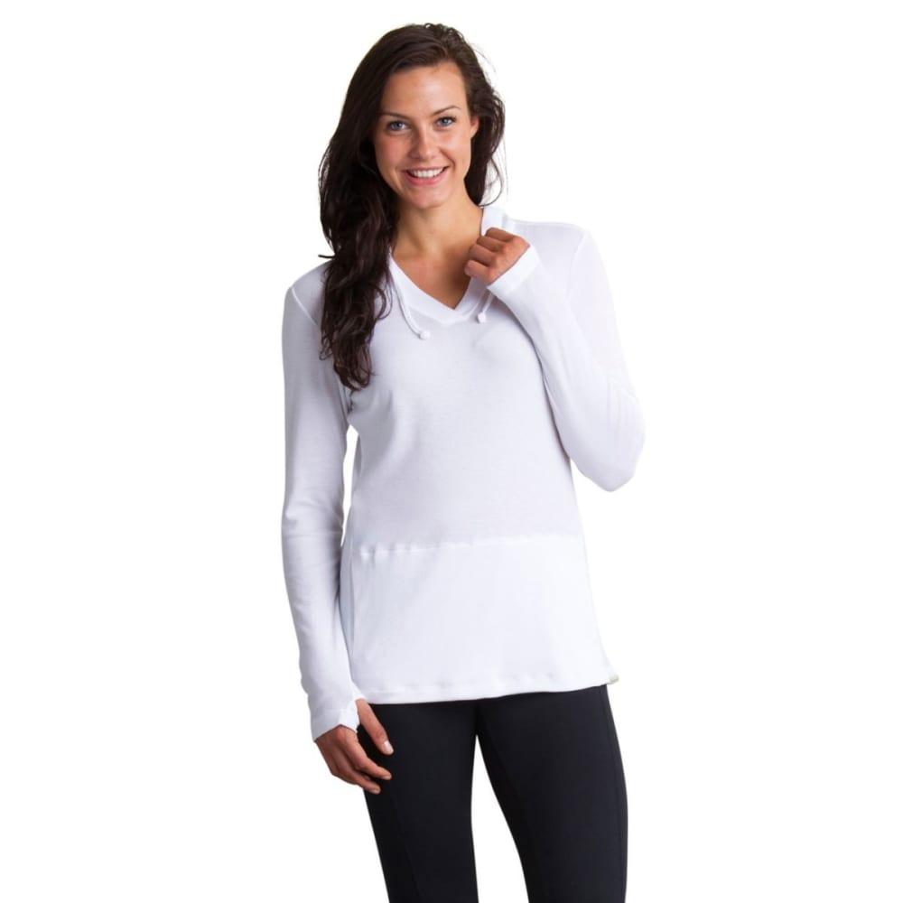 EX OFFICIO Women's BugsAway Lumen Hoodie - 1000-WHITE