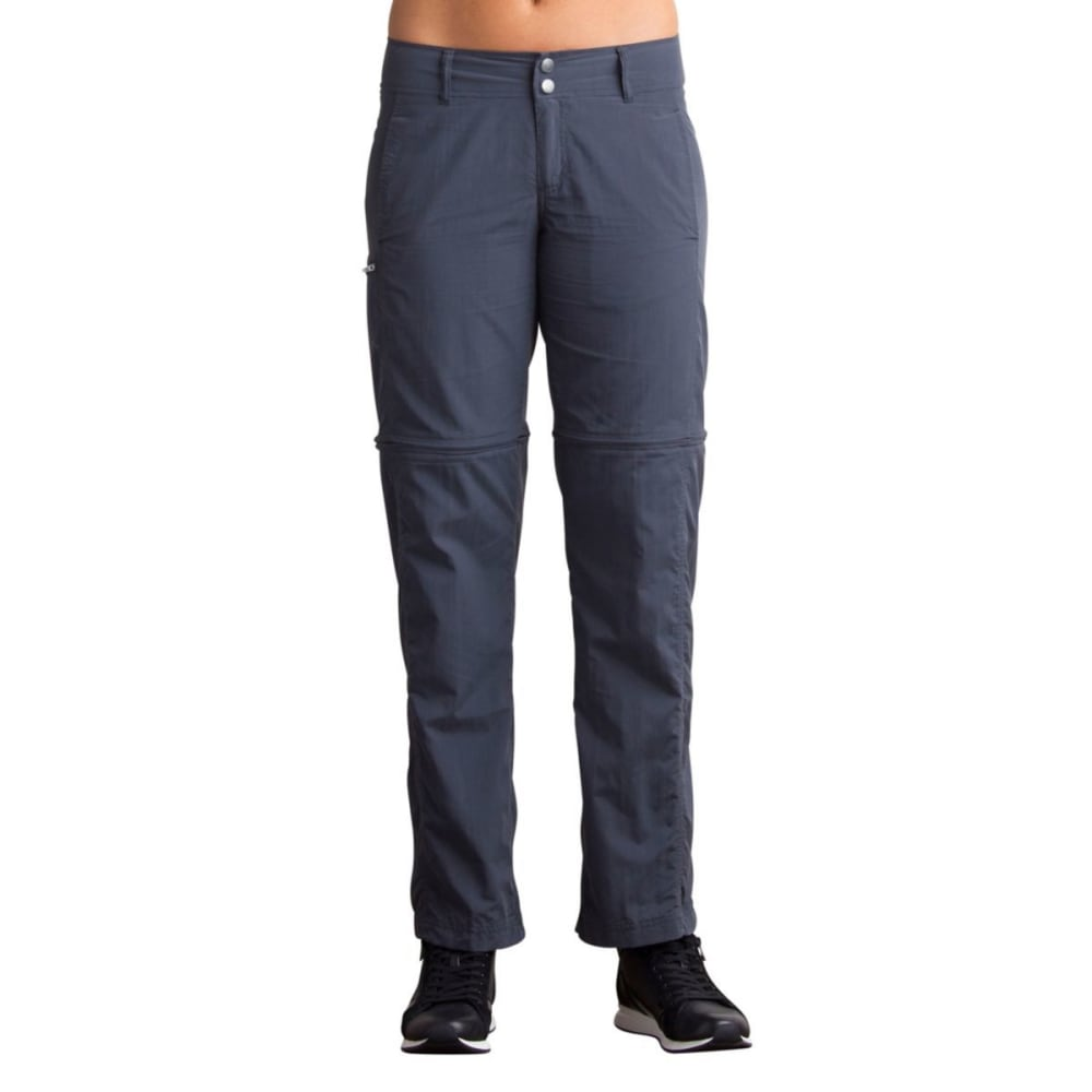 EX OFFICIO Women's BugsAway Sol Cool Ampario Convertible Pants - 9703-CARBON