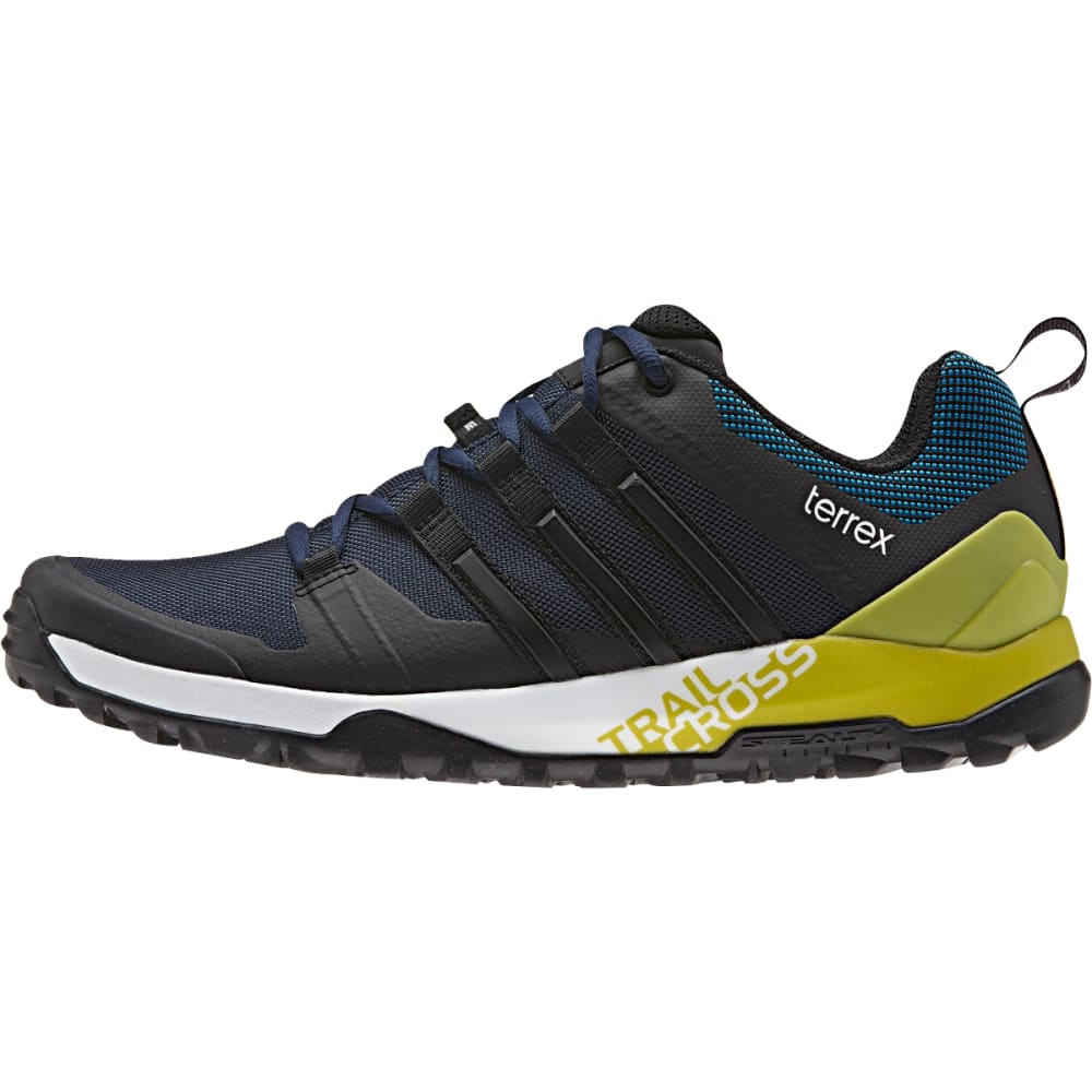 ADIDAS Men's Terrex Trail Cross SL Shoes, Collegiate Navy - COL. NAVY/BLACK/LIME