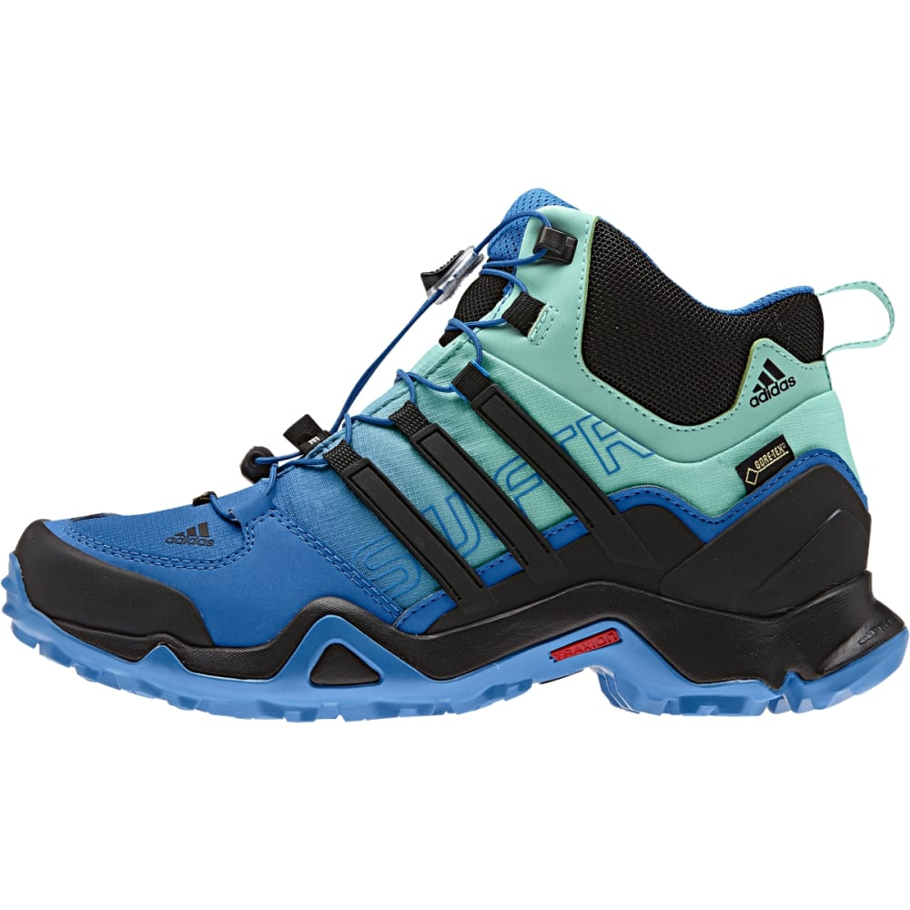 ADIDAS Women's Terrex Swift Mid GTX Shoes, Ray Blue - RAY BLUE/BLK/ICE GRN