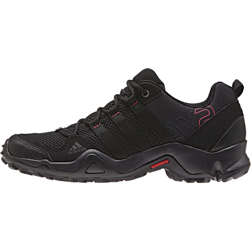 ADIDAS Women's AX2 Shoes, Utility Black - UT BLACK/BLK/B PINK