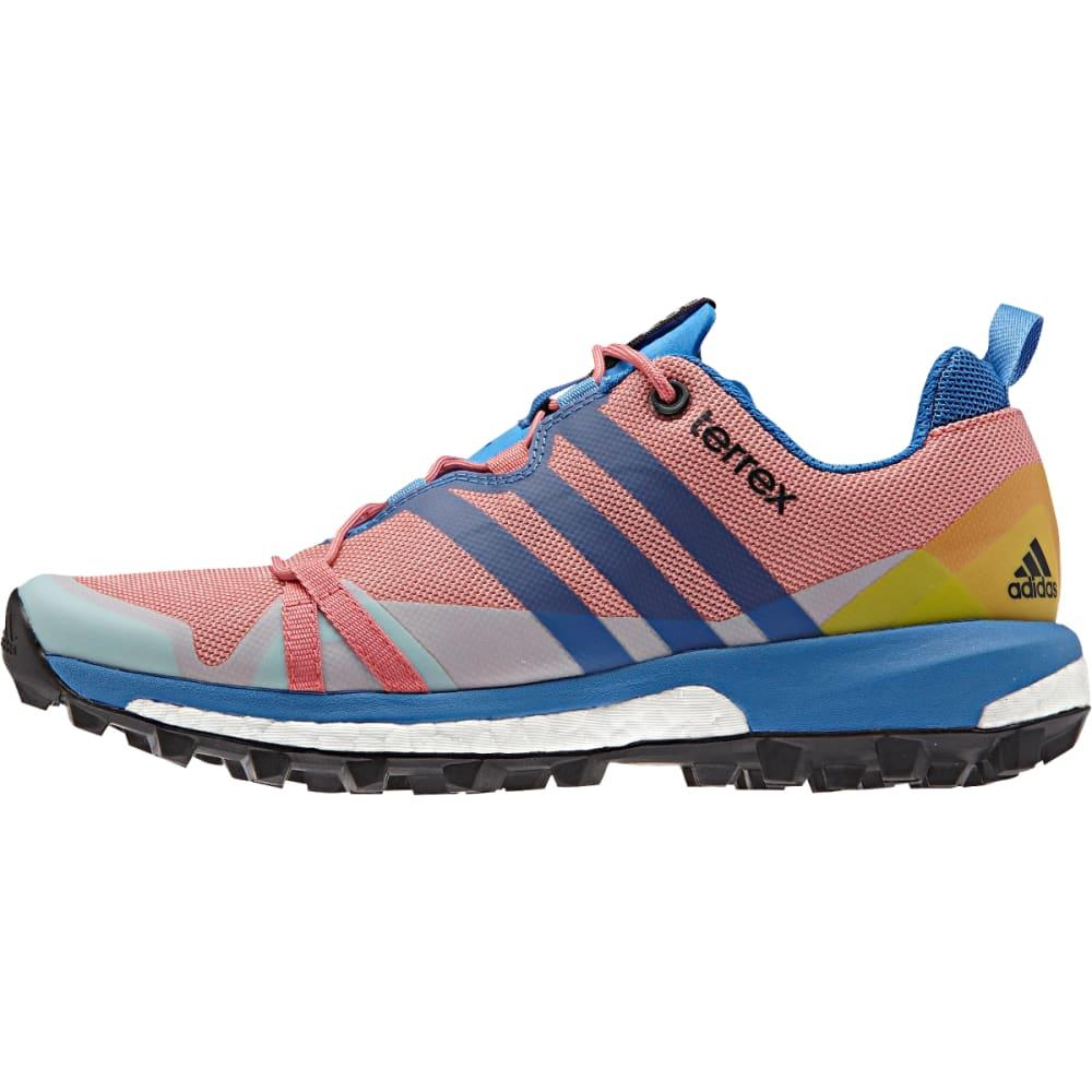 ADIDAS Women's Terrex Agravic Shoes, Super Blush - S BLUSH/RAY BLU/PNK