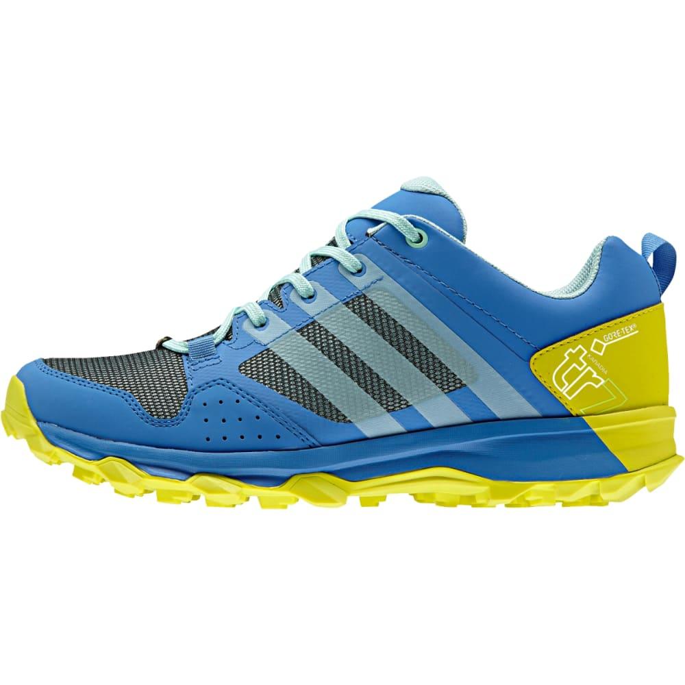 ADIDAS Women's Kanadia 7 Trail GTX Shoes, Ray Blue - RAY BLU/I GRN/SLIME