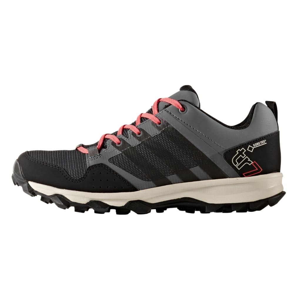 ADIDAS Women's Kanadia 7 Trail GTX Shoes, Vista Grey - V GREY/BLACK/ SBLUSH