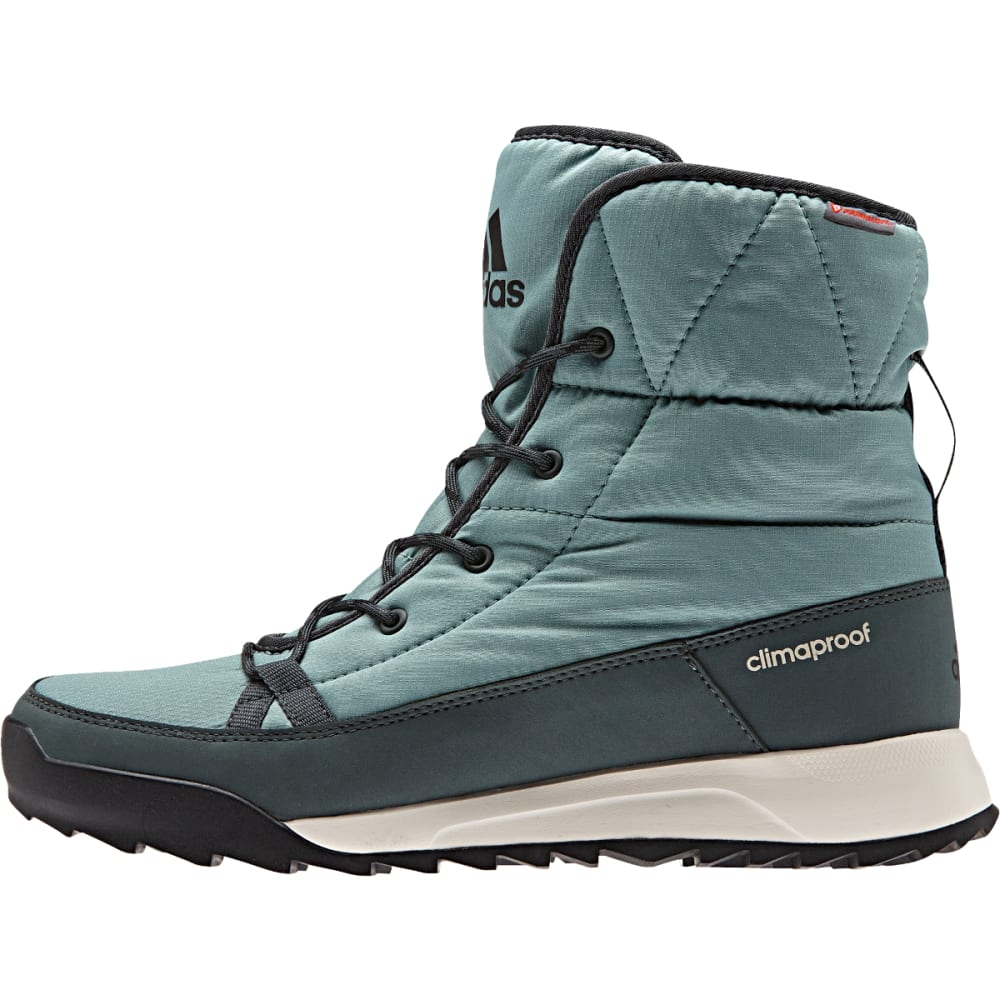 ADIDAS Women's Climawarm CP Choleah Padded Boots, Vapour Steel - STEEL/IVY/BLACK