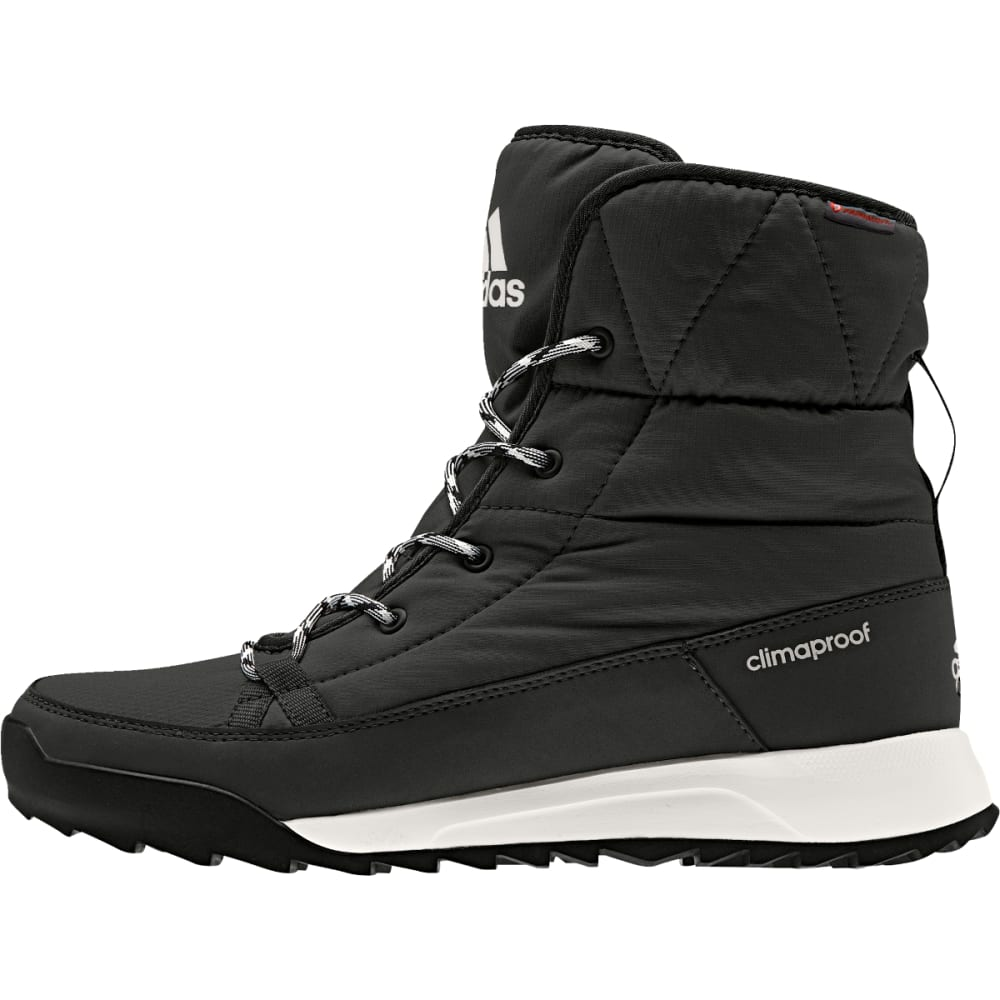 ADIDAS Women's Climawarm CP Choleah Padded Boots, Black/Chalk White - BLACK/WHITE/BLACK