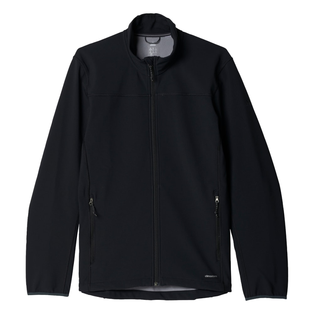 ADIDAS Men's Softcase Softshell Jacket - BLACK