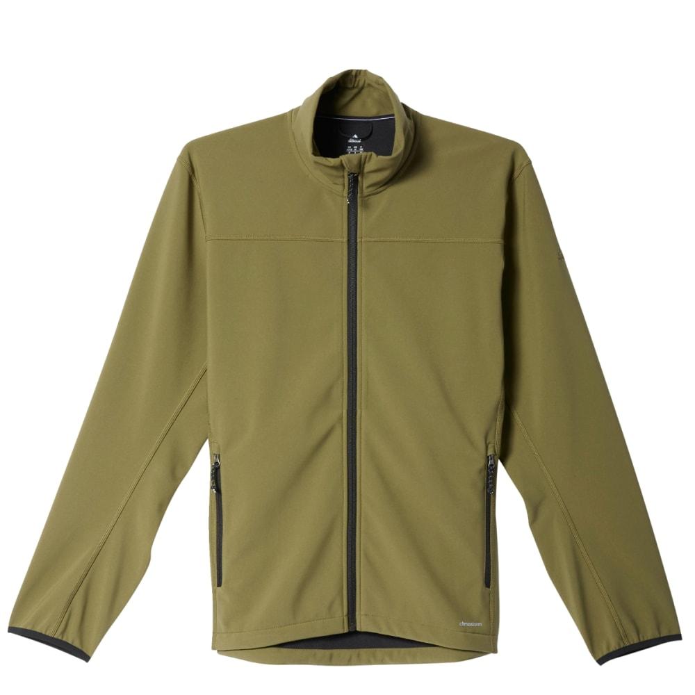 ADIDAS Men's Softcase Softshell Jacket - OLIVE CARGO