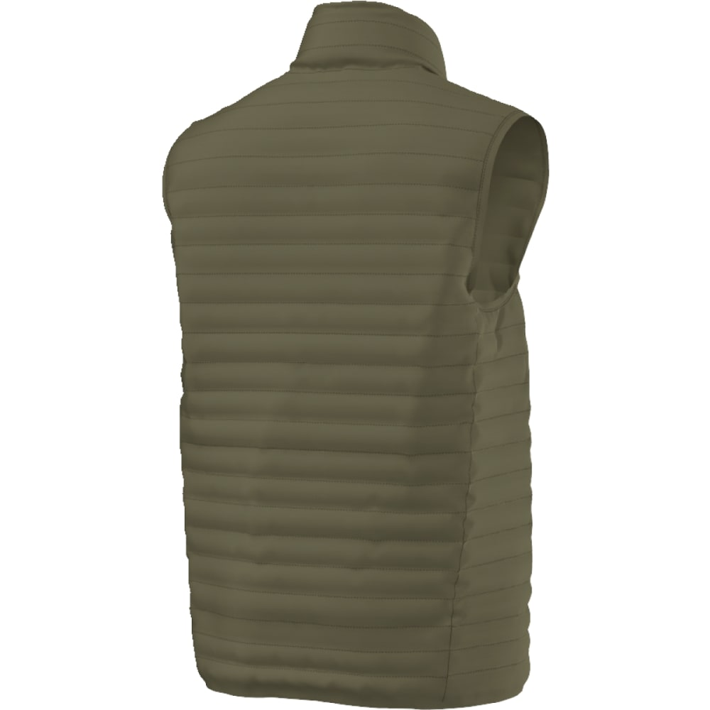 ADIDAS Men's Super-Light Down Vest - OLIVE CARGO