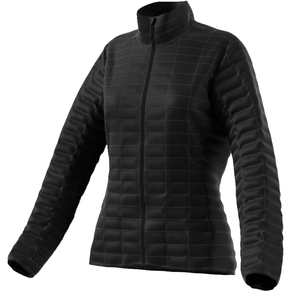 ADIDAS Women's Flyloft Jacket - BLACK/UTILITY BLACK