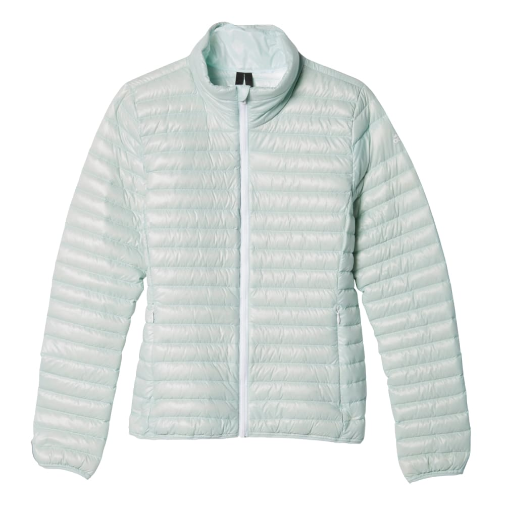 ADIDAS Women's Super-Light Down Jacket - VAPOUR GREEN