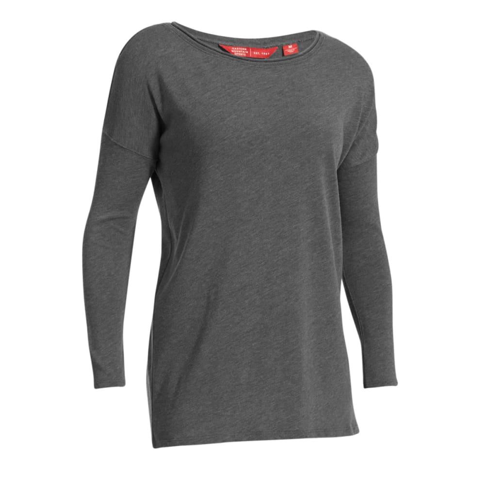 EMS Women's Scoop Knit Long-Sleeve Shirt - Black - Size XL S17W0067