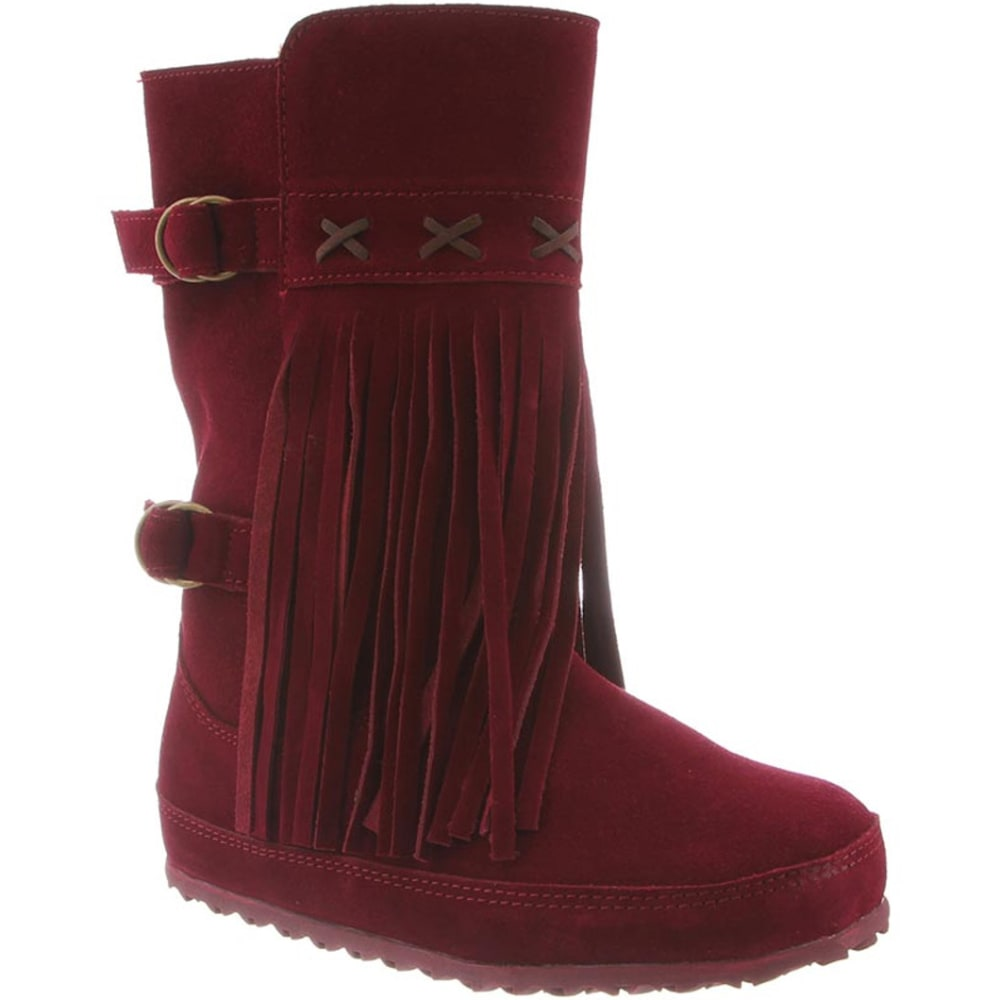 BEARPAW Women's Krystal Boots - BORDEAUX