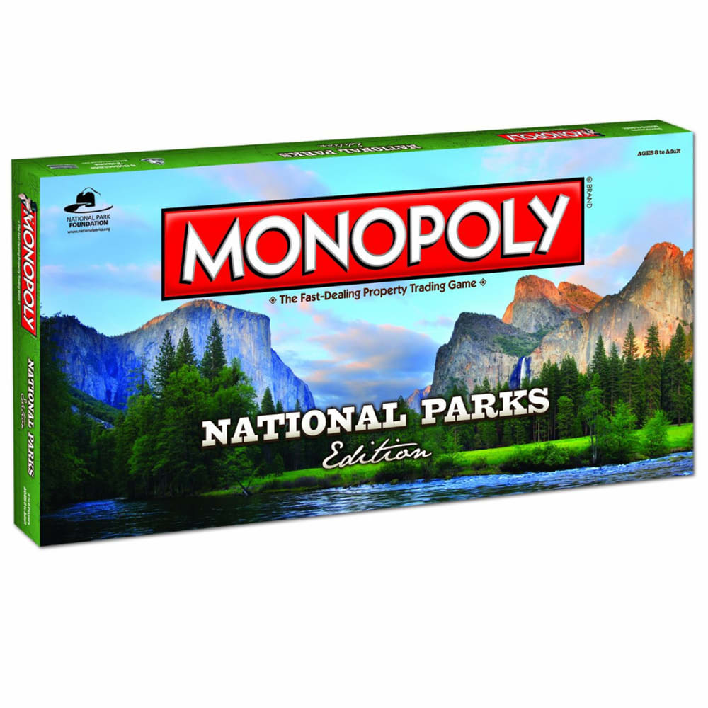 MONOPOLY National Parks Edition - NO COLOR
