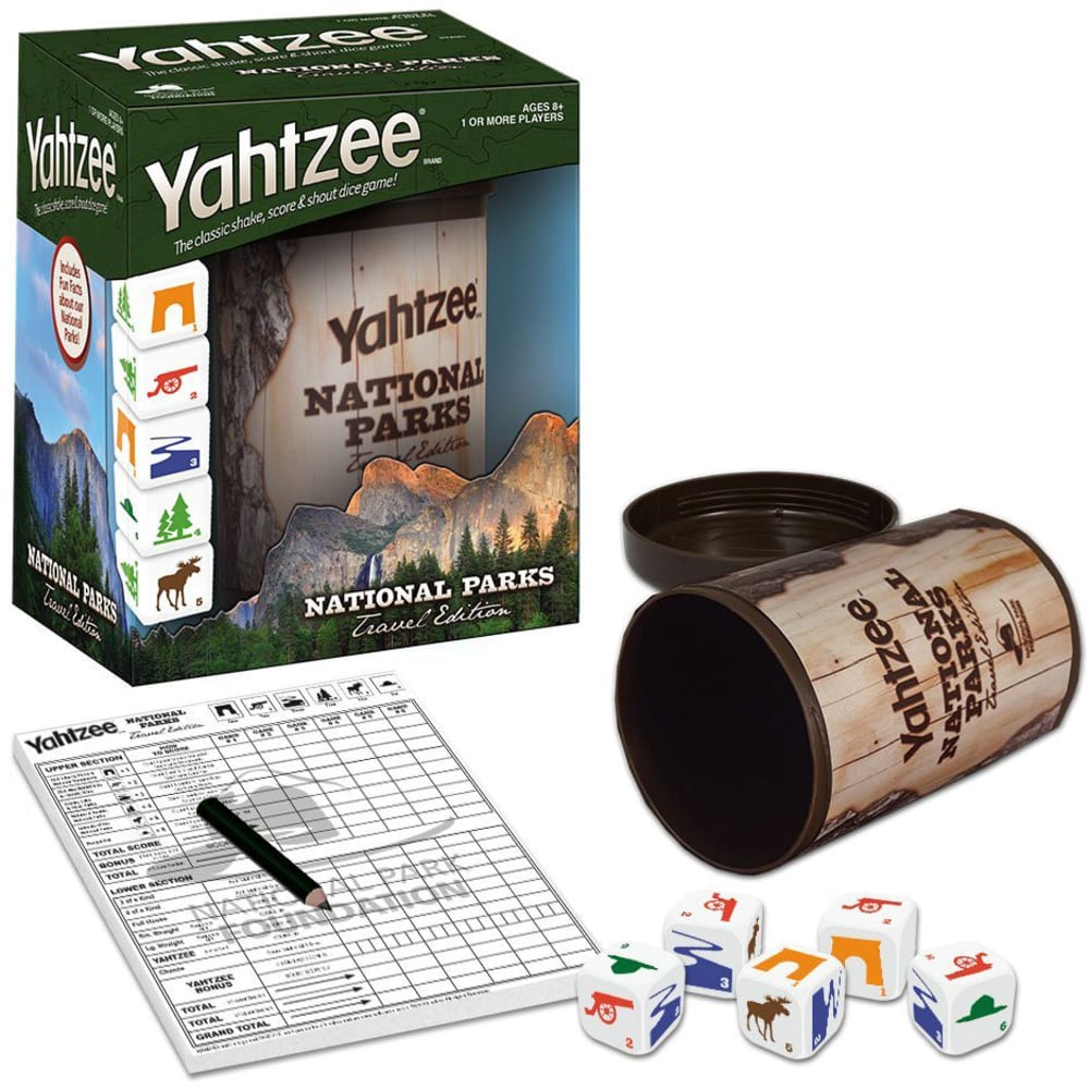 YAHTZEE National Parks Edition - NO COLOR