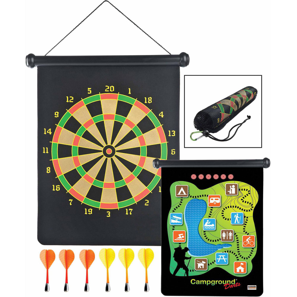 GSI Campground Magnetic Dart Set - NO COLOR