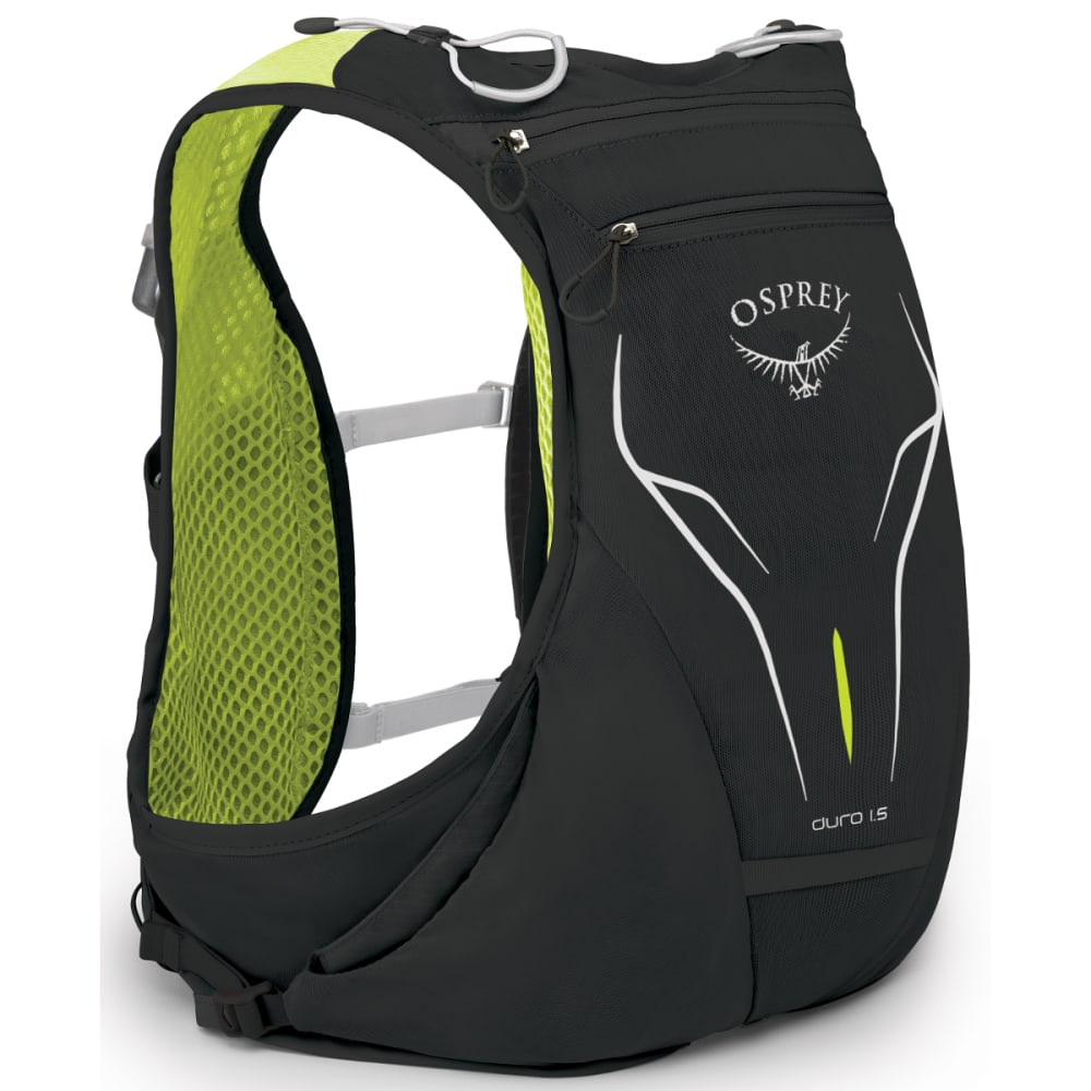 OSPREY Duro 1.5 Pack with 1.5L Reservoir - ELECTRIC BLACK