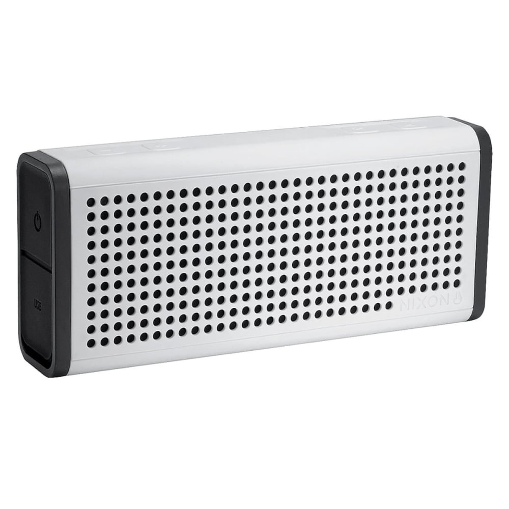 NIXON Blaster Bluetooth Speaker - WHITE/BLK/H028127-00