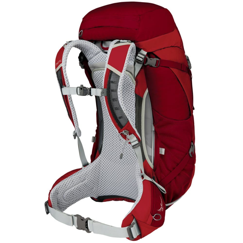 OSPREY Stratos 50 Pack - BEET RED