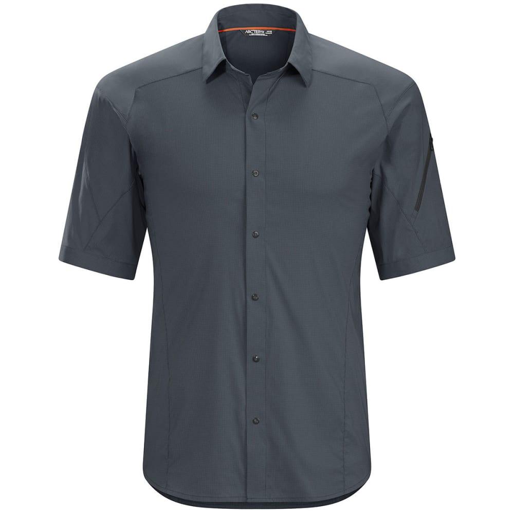 ARC'TERYX Men's Elaho Short-Sleeved Shirt - MAGNET