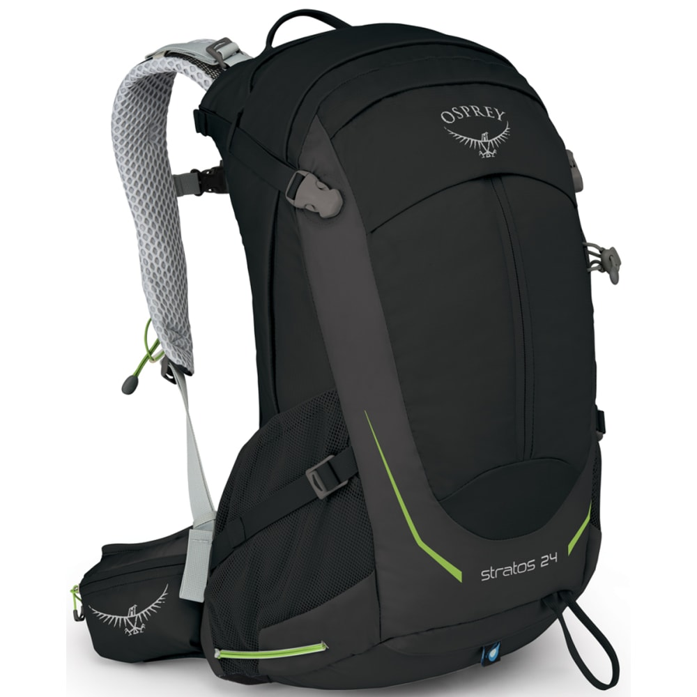 OSPREY Stratos 24 Pack - BLACK