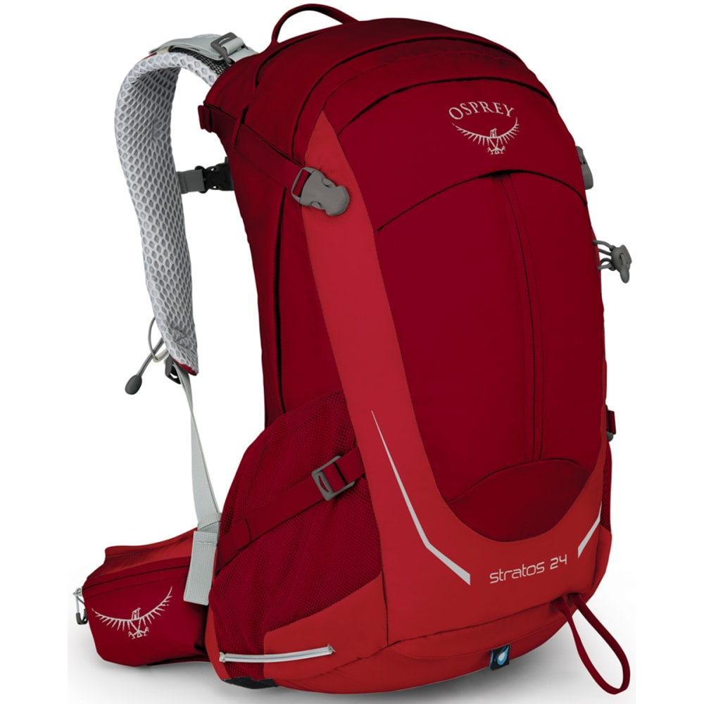 OSPREY Stratos 24 Pack  - BEET RED