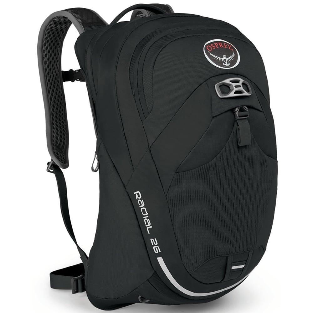 OSPREY Radial 26 Pack - BLACK