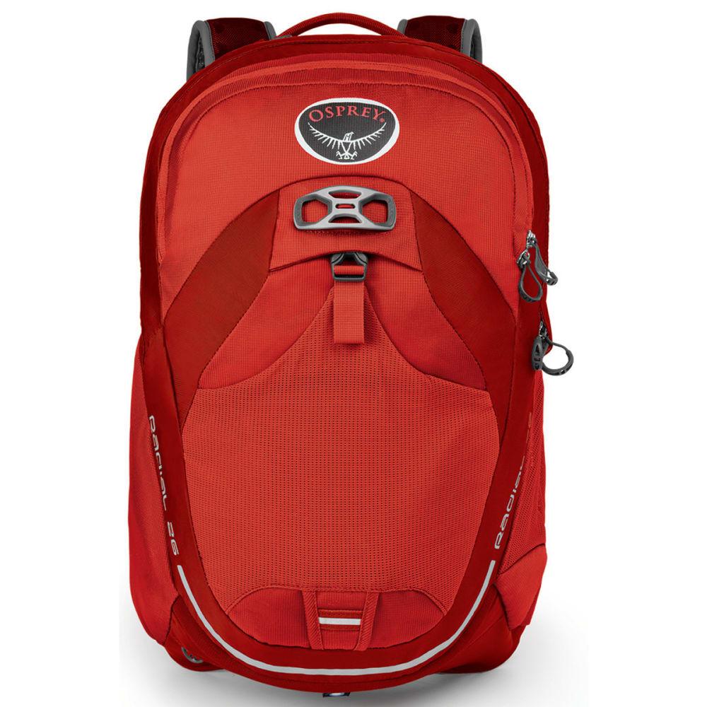 OSPREY Radial 26 Pack - LAVA RED