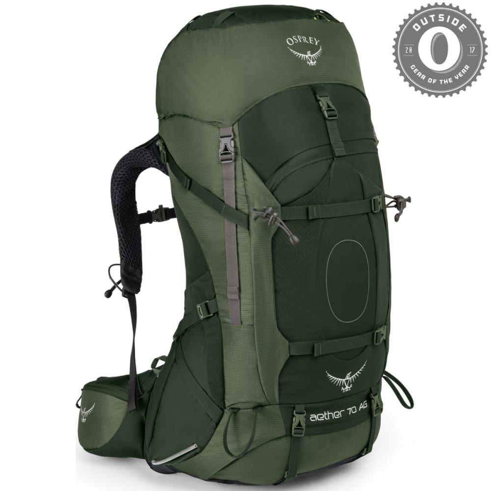 OSPREY Aether AG 70 Pack - ADIRONDACK GREEN