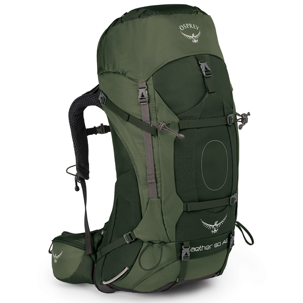 OSPREY Aether AG 60 Pack - ADIRONDACK GREEN