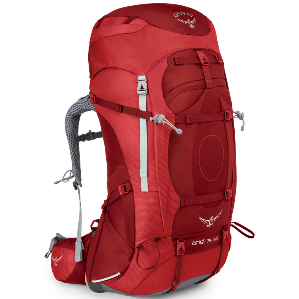 OSPREY Women's Ariel AG 75 Pack  - PICANTE RED