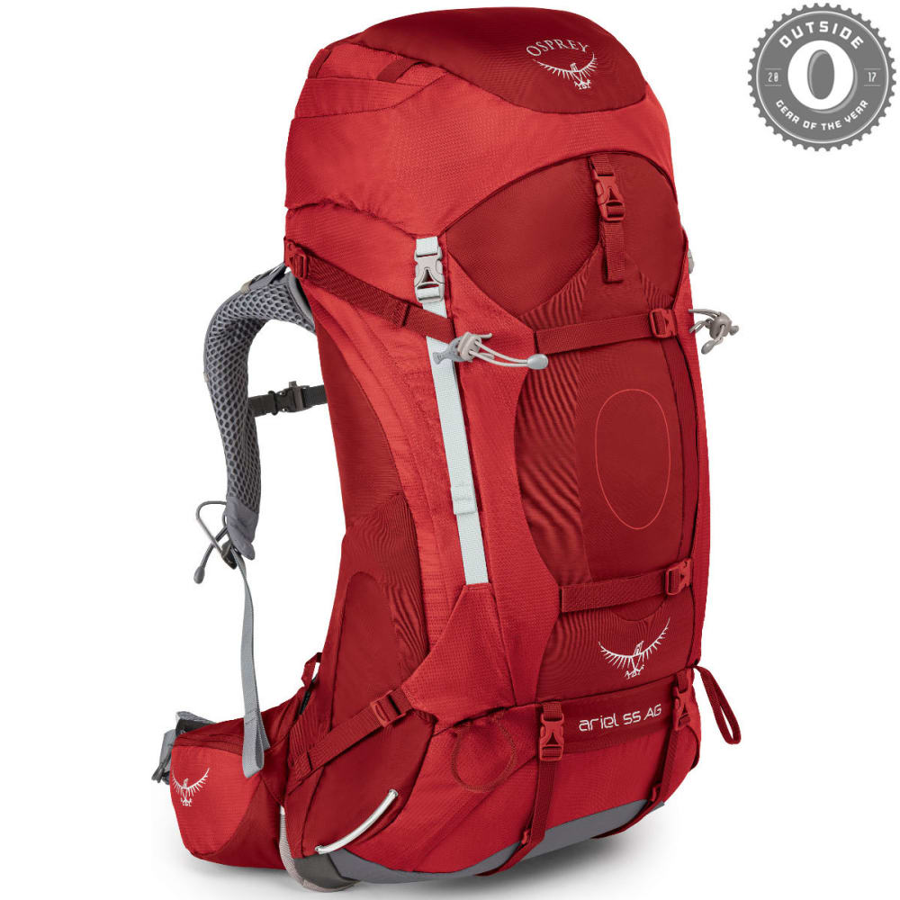 OSPREY Women's Ariel AG 65 Pack  - PICANTE RED